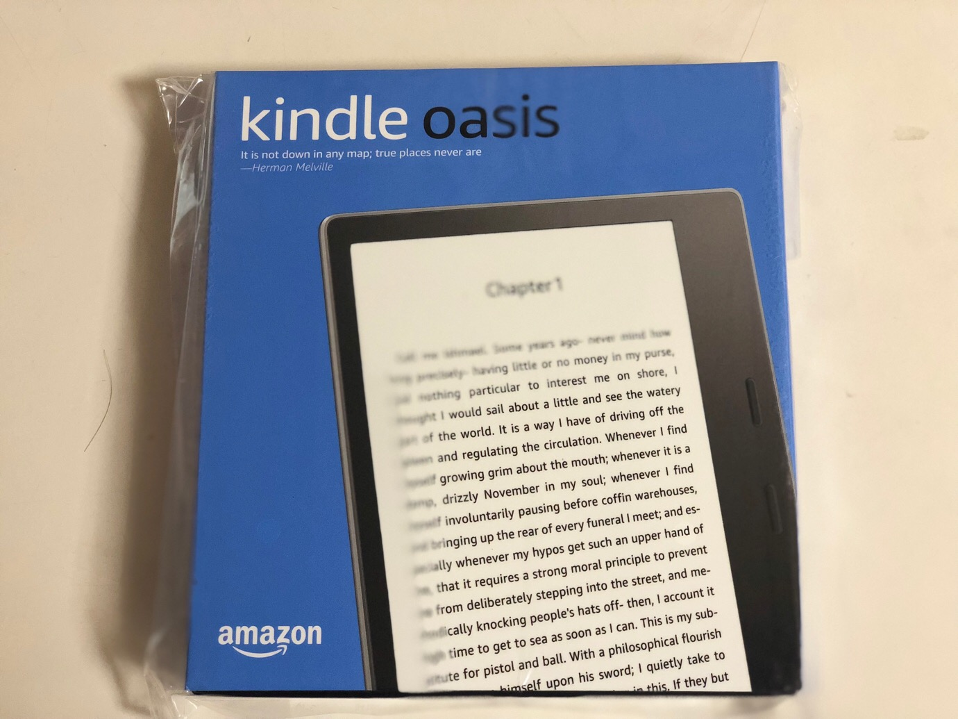 Kindle Oasisが届いた〜開封してみました